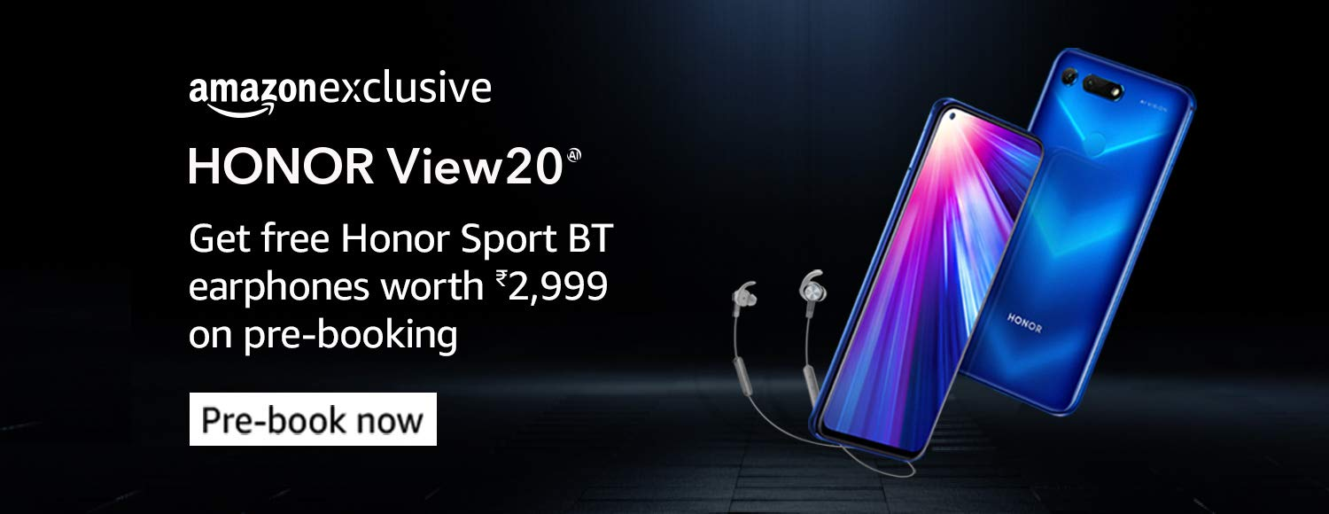 honor view 20 prebooking